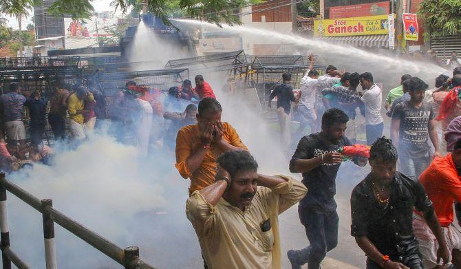 Image result for sabarimala violence