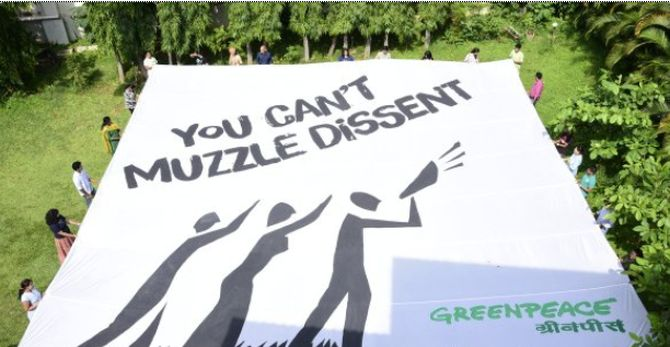 India News - Latest World & Political News - Current News Headlines in India - 'No reasons given for freezing Greenpeace funds'