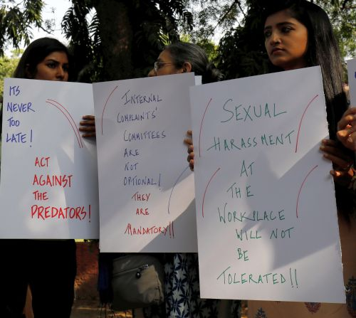 India News - Latest World & Political News - Current News Headlines in India - 'Sexual harassment at workplace non-negotiable': Journalists protest in Delhi