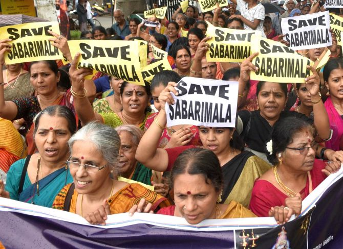 51 women of menstruating age entered Sabarimala: Kerala govt to SC