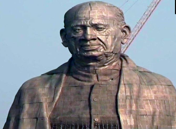 India News - Latest World & Political News - Current News Headlines in India - 'Statue of Unity' gets finishing touches as unveiling nears