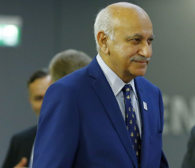 MJ Akbar, Tarun Tejpal suspended from Editors Guild Of India
