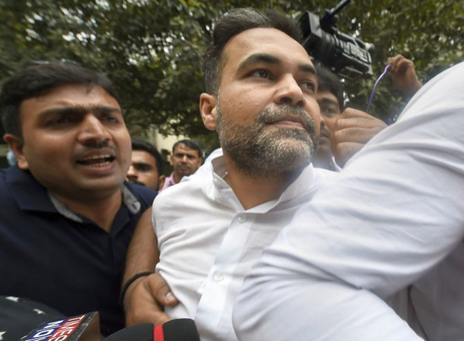 India News - Latest World & Political News - Current News Headlines in India - Ex-BSP MP's son who brandished gun surrenders, sent to 1-day custody