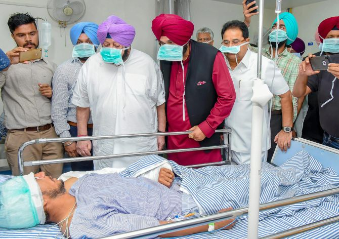 India News - Latest World & Political News - Current News Headlines in India - Amarinder orders magisterial probe into Amritsar mishap