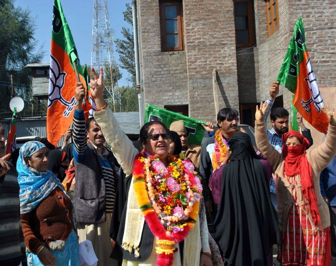 India News - Latest World & Political News - Current News Headlines in India - Civic polls: BJP sweeps Jammu, make gains in Kashmir