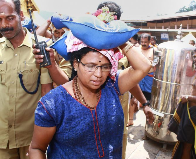 India News - Latest World & Political News - Current News Headlines in India - Dalit woman puts off plan to visit Sabarimala due to heavy rain