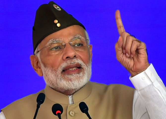 India News - Latest World & Political News - Current News Headlines in India - India will hit back with 'double force' if sovereignty is challenged: PM
