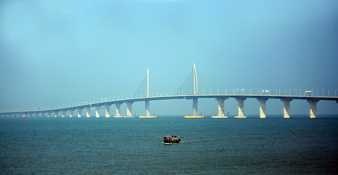 India News - Latest World & Political News - Current News Headlines in India - Spectacular photos of the world's longest sea bridge