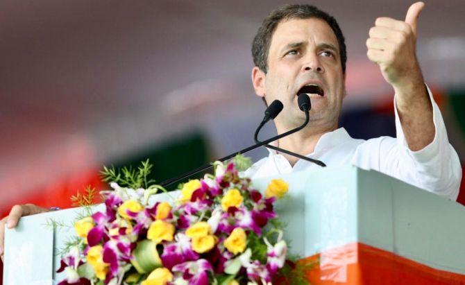 India News - Latest World & Political News - Current News Headlines in India - Gandhi sacrificed life for truth; PM working against his ideals: Rahul