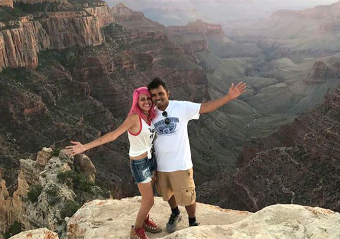 Indian couple fell to deaths from Yosemite cliff while