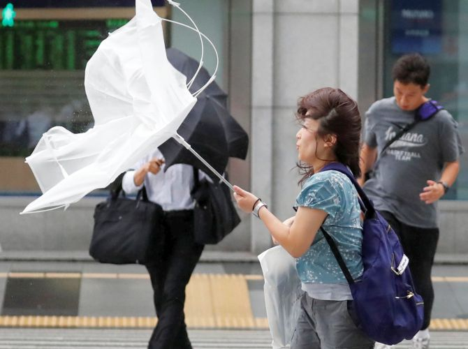 India News - Latest World & Political News - Current News Headlines in India - Typhoon Jebi, Japan's most powerful storm in 25 years, wreaks havoc