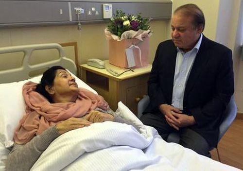 Image result for nawaz sharif wife
