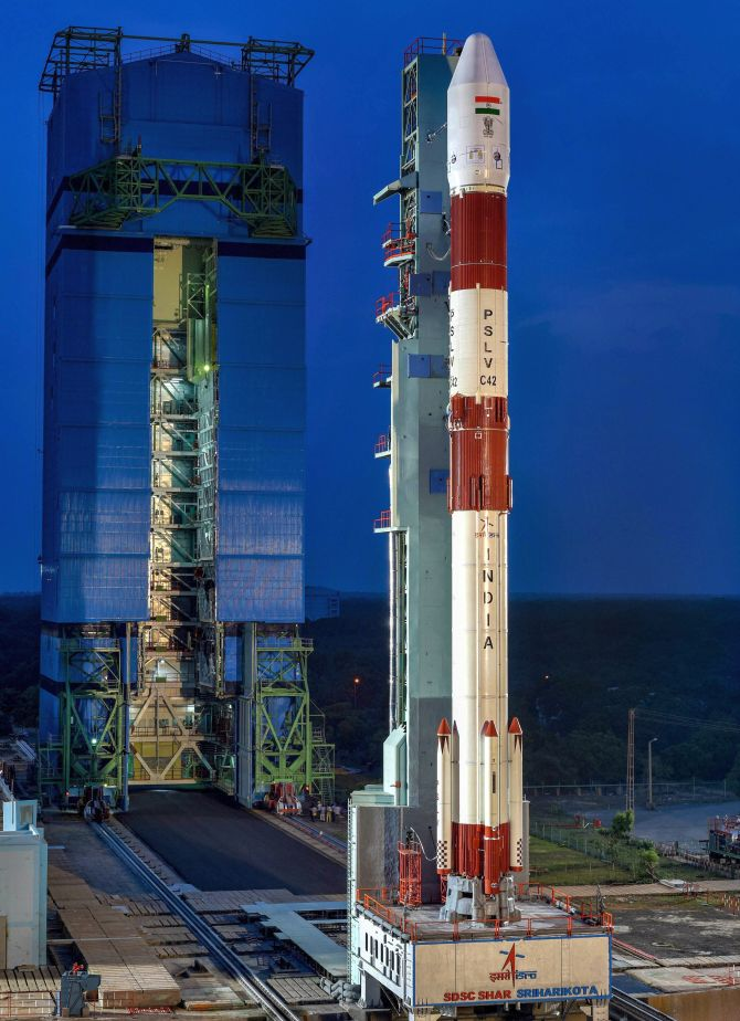 The PSLV-C42 satellite