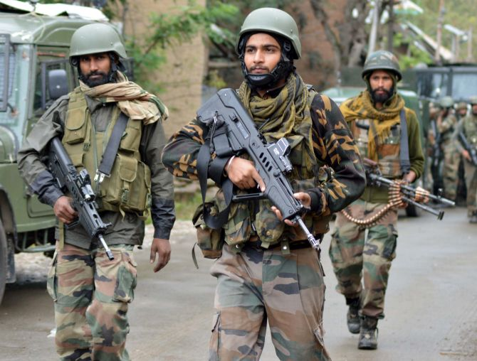 India News - Latest World & Political News - Current News Headlines in India - J & K: 5 terrorists killed in encounter; civilian killed in protests