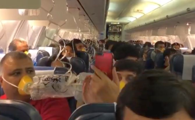India News - Latest World & Political News - Current News Headlines in India - Jet flyers suffer nose, ear bleeding as crew forgets to maintain cabin pressure