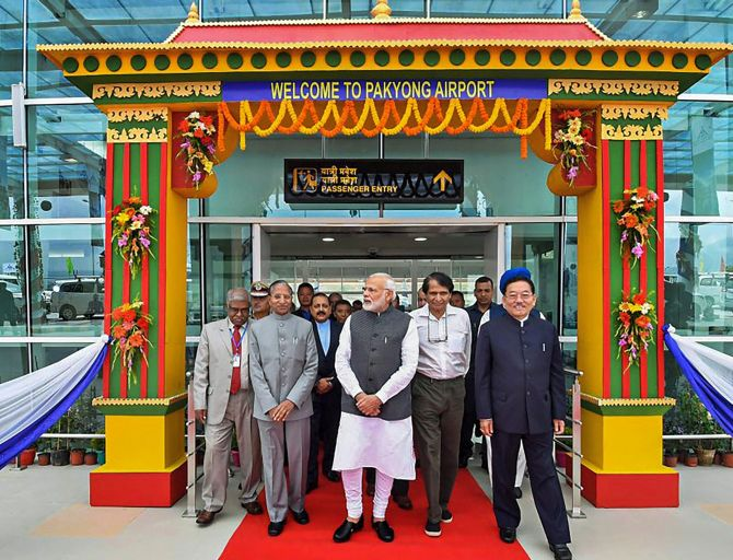 India News - Latest World & Political News - Current News Headlines in India - PM Modi inaugurates Sikkim's first airport, stresses on development