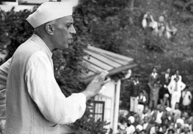 Nehru was eclectic, and brilliant' - Rediff com India News