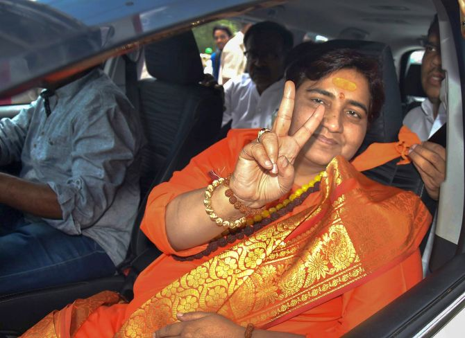 FIR against Sadhvi Pragya for Babri Masjid remark