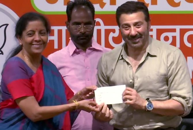 Sunny Deol joins BJP, says party is his family