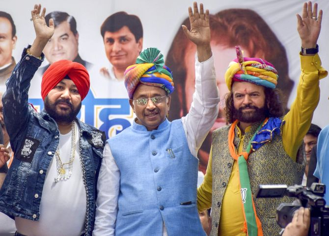 Daler Mehndi joins Bharatiya Janata Party