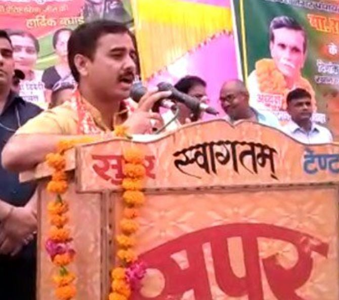 BJP leader sympathises with Unnao rape accused MLA - Rediff