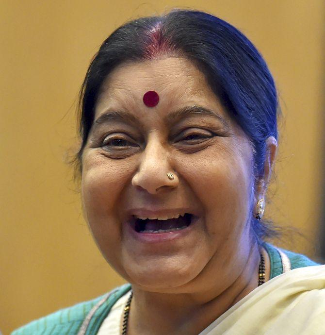 The journalist who spoke last to Sushma Swaraj - Rediff com India News