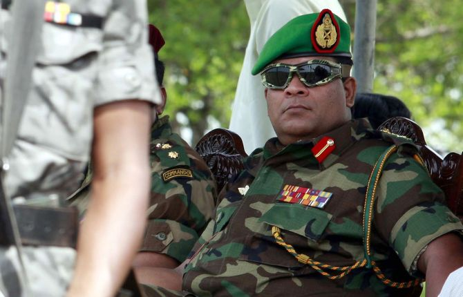Lanka names officer accused of human rights abuse as Army