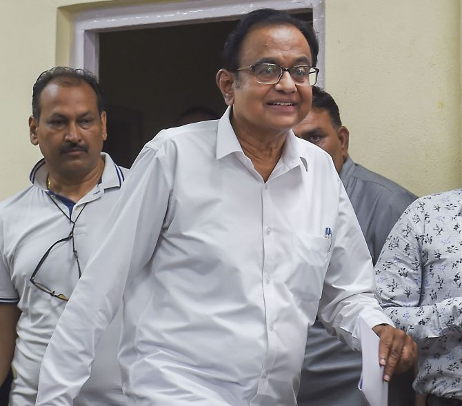 Chidambaram makes submissions after court's nod