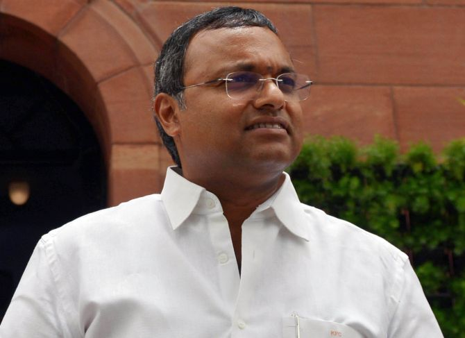Never met Peter or Indrani Mukerjea, says Karti