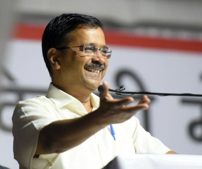 'Abki baar...': Kejriwal coins poll slogan for BJP