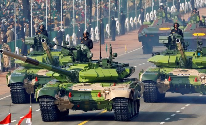 Defence Budget Increased To Over Rs 3 Lakh Crore In 2019 20 Rediff