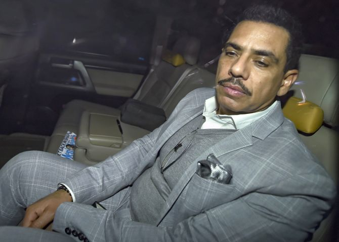 Vadra grilled by ED for 3 hrs in money-laundering case