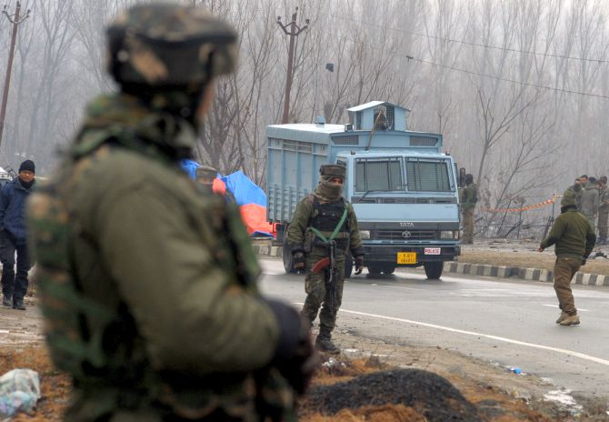 Civilian traffic to be restricted during movement of convoys in J-K: Rajnath