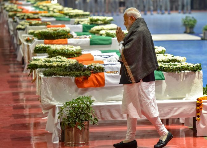 'It's time to walk the talk': Congress targets PM over Pulwama attack