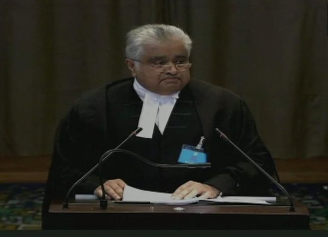 India objects to Pak's use of abusive language at ICJ