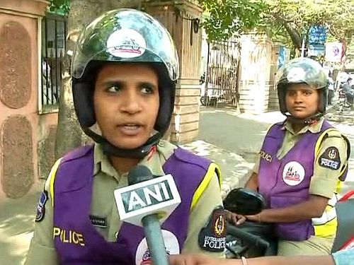 Female cops to now patrol the streets in Hyderabad