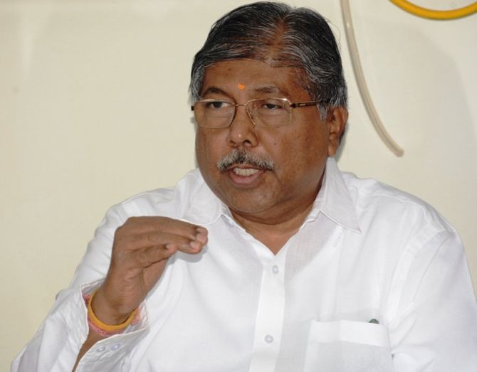 BJP appoints Chandrakant Patil as Maha unit chief