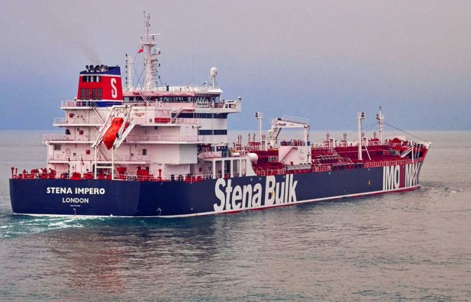 18 Indians aboard British oil tanker seized by Iran