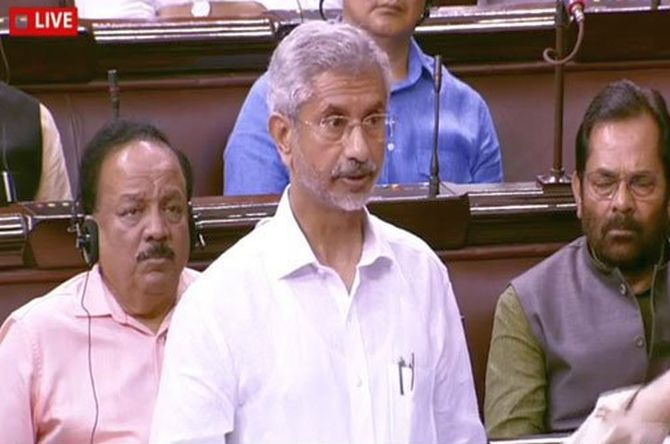 No such request by PM: Jaishankar on Trump's claim