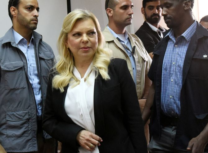 Netanyahu's wife convicted of misusing state funds