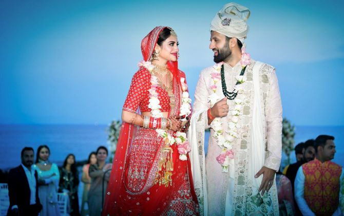 First-time MP Nusrat Jahan gets married in Turkey - Rediff