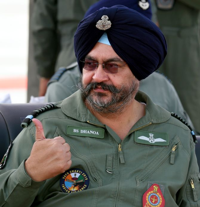 Achieved our objective in Balakot op: IAF chief