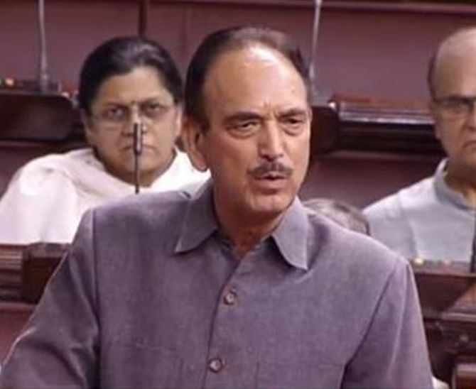Return 'our old India' to us: Azad in RS