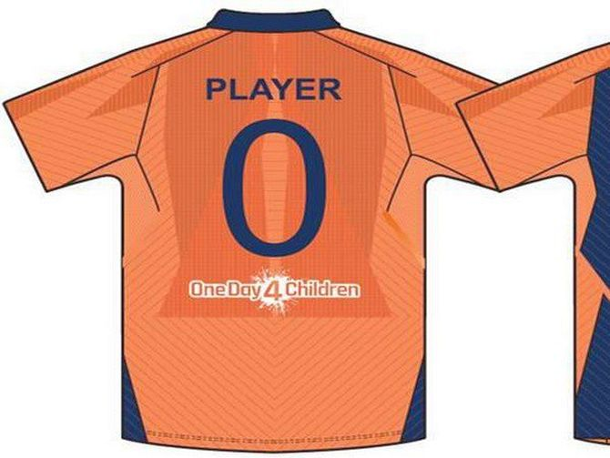 Oppn objects to Team India's orange jersey