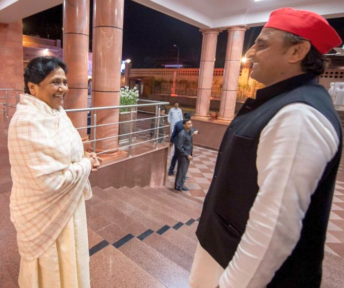 'Don't create confusion': Mayawati, Akhilesh to Congress