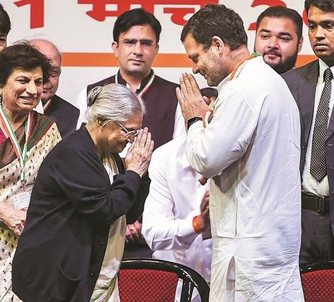 Alliance with AAP harmful: Sheila Dikshit to Gandhis