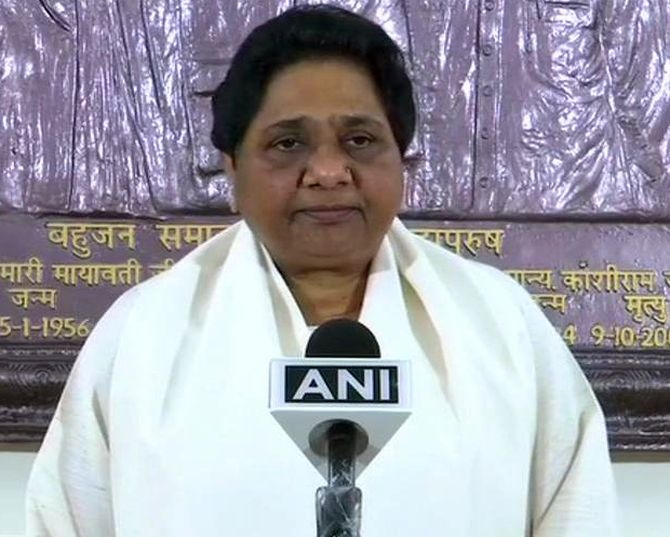 Mayawati won't contest Lok Sabha polls