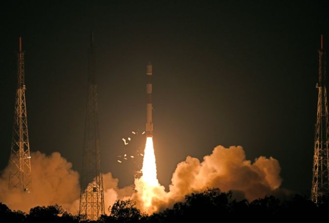 ISRO launches radar imaging cloud-proof satellite
