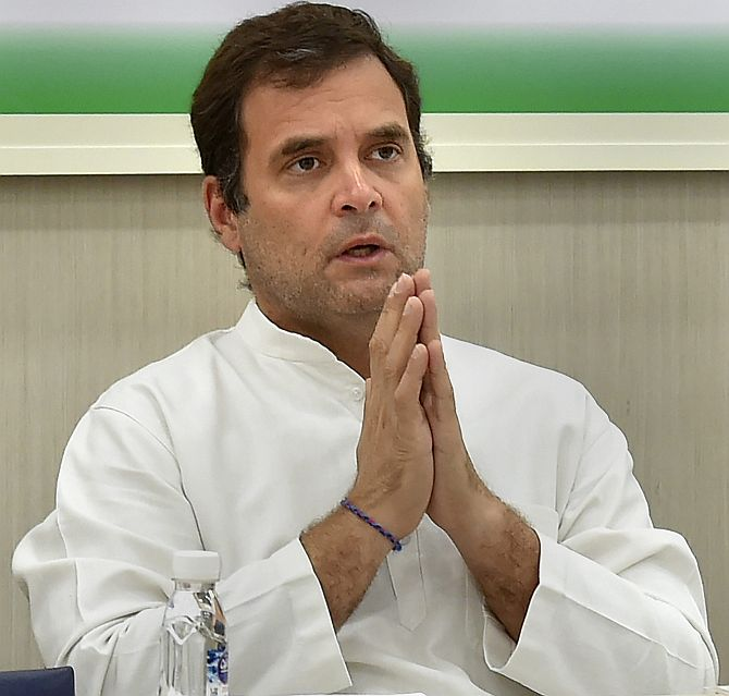 Rahul's offer to resign rejected by party's top brass