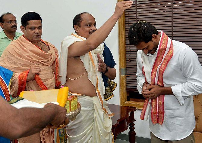 YSR Congress chief to meet Modi on Sunday - Rediff com India